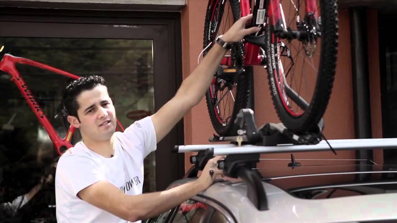 9c232d71f Como levar sua bike no carro - YouTube