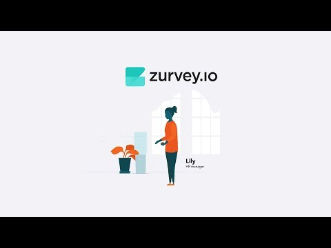 Zurvey.io survey maker & analyzer for HR departments