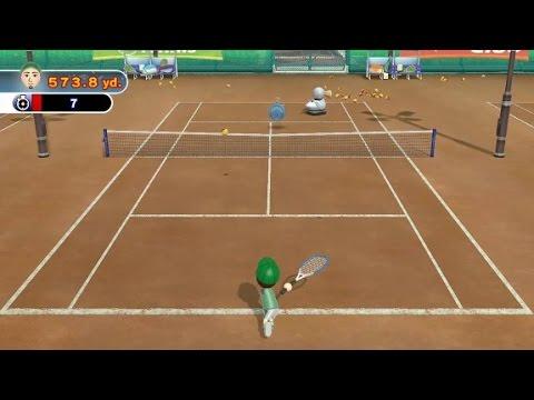 Wii Sports Club - Runner Ducky Tennis Challenge (Platinum Medal)