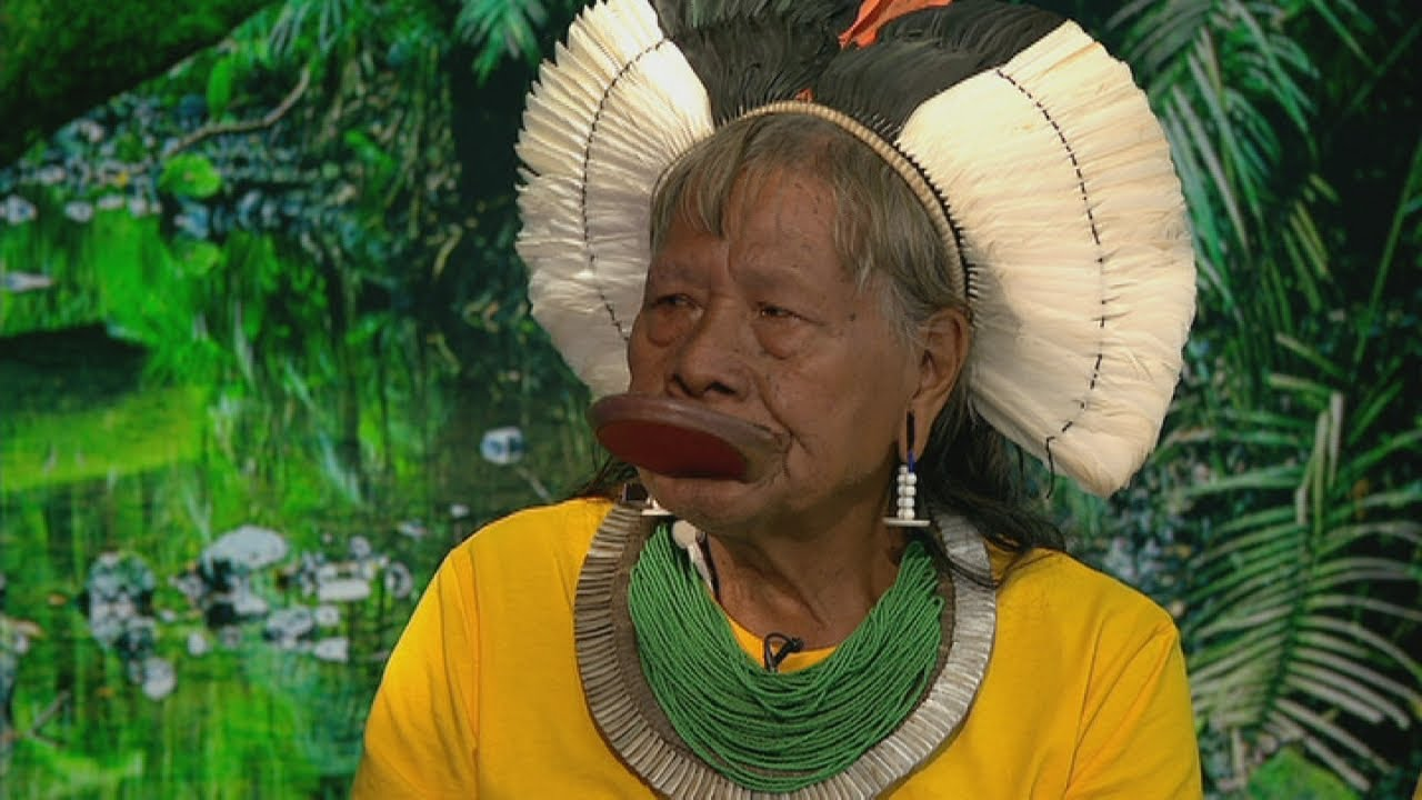 It's all finished' - Tribal chief on deforestation of the Amazon ...