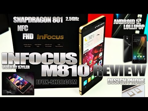 InFocus M810 (Review) NFC, Snapdragon 801 - Video by s7yler