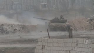 Aleppo combat footage: Heavy battles as SAA retakes more eastern districts