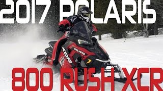 STV 2017 Polaris 800 Rush XCR