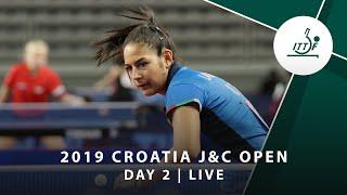 2019 ITTF Junior Circuit Golden, Croatia Junior & Cadet Open - Day 2 (Session 1)