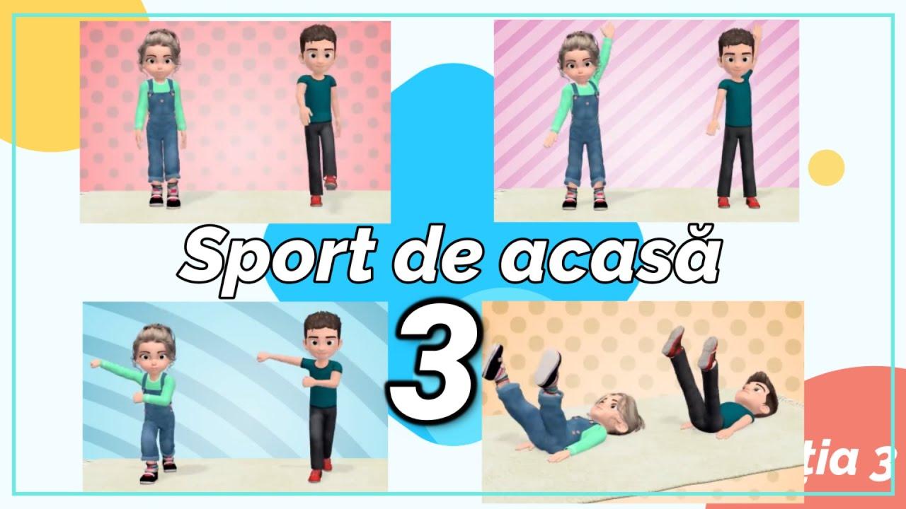 Sport de acasa - Lectia 3