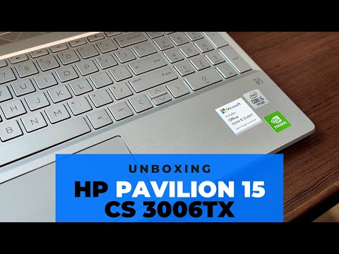 HP Pavilion 15 CS3006TX Laptop Unboxing | Laptop for Work | Intel i5 10th generation laptop 2020
