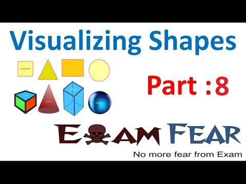 Maths Visualizing Shapes part 8 (Regular and Irregular Polyhedron) CBSE Class 8 Mathematics VIII