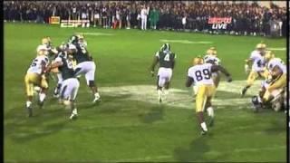 Edwin baker 56 yard rushing td