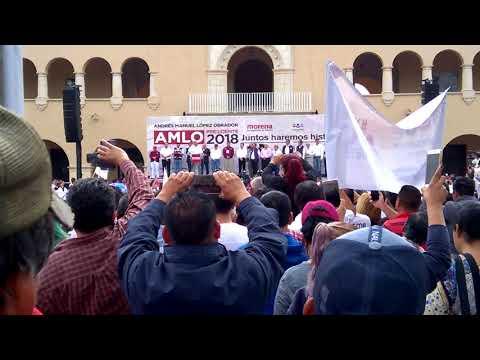 AMLO En Nuevo Laredo, Tamaulipas, México. (Discurso De Campaña Completo) 5/4/18