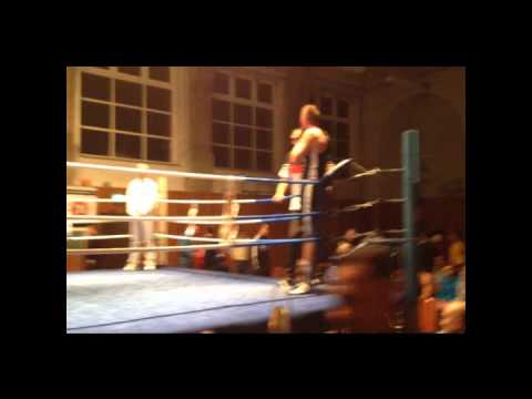 Verbandsmeisterschaften Boxen 2012 FBI Arthur Dühring KO.