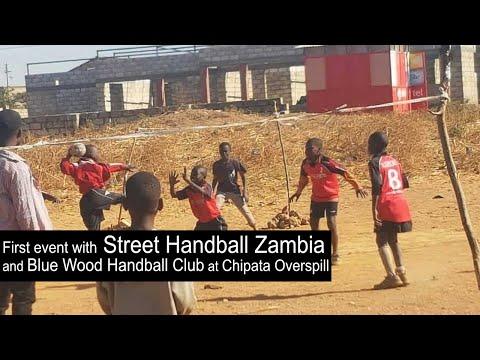 Street Handball Zambia hosted their first Street Handball Event in Chipata Overspill