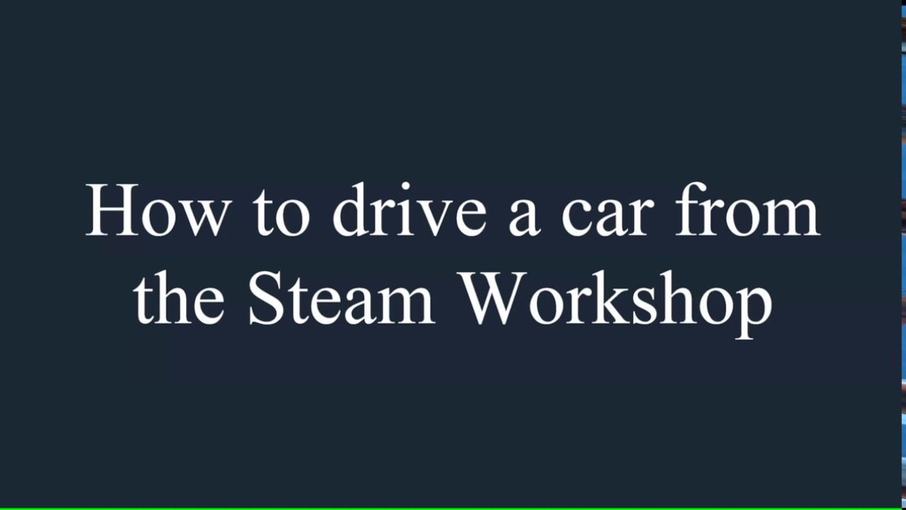 City Car Driving Steam Workshop