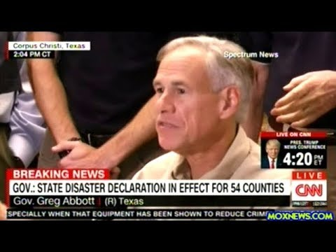FEMA And Texas Governor Give Update On Hurricane Harvey Rescue And Recovery Efforts