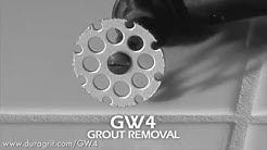 Amazing Grout Removal Wheel for your Dremel! DuraGRIT GW4