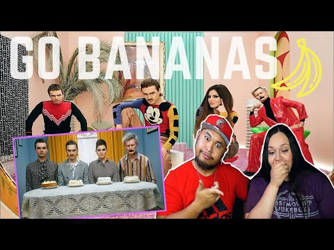 LITTLE BIG - GO BANANAS (Official Music Video) | REACTION 2020