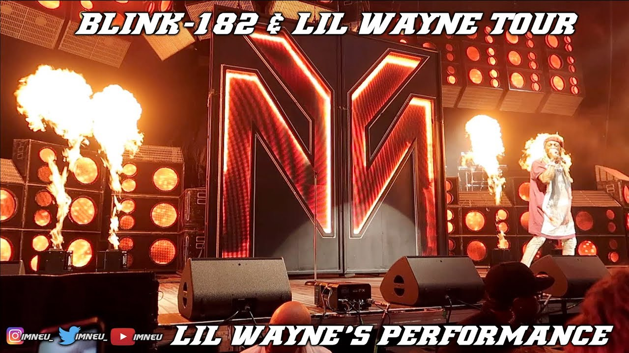 Lil Wayne is reportedly not loving the Blink 182 tour