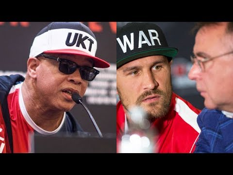 VIRGIL HUNTER EXPOSES KOVALEV'S MANAGER; REVEALS HE TOLD WARD HE WAS BETTER FIGHTER AFTER REMATCH