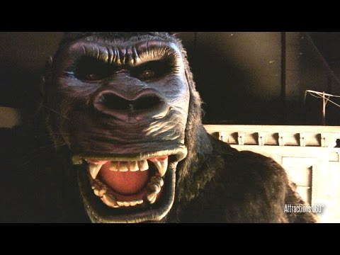 [HD] King Kong Encounter & the Mummy Tunnel Sandstorm at Universal Studios Hollywood