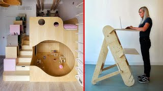 Creative & Smart Ideas For Your Small Apartment | Space-Saving Furniture ▶ 4 !