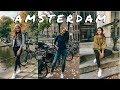Amsterdam Travel Vlog | 4 Days in Amsterdam - Exploring Nine Streets, Bloemenmarkt, the Food & more!