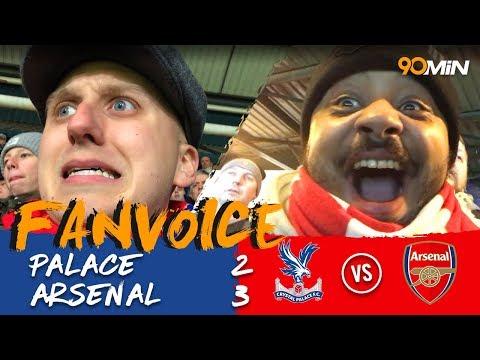 Alexis Sanchez double gives Arsenal the win at Palace! I Crystal Palace 2-3 Arsenal I 90min Fanvoice