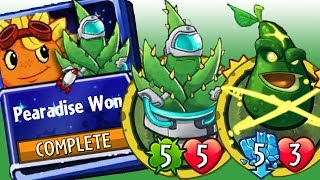 Plants vs Zombies Heroes Solar Flare Strategy Deck - Pearadise Won