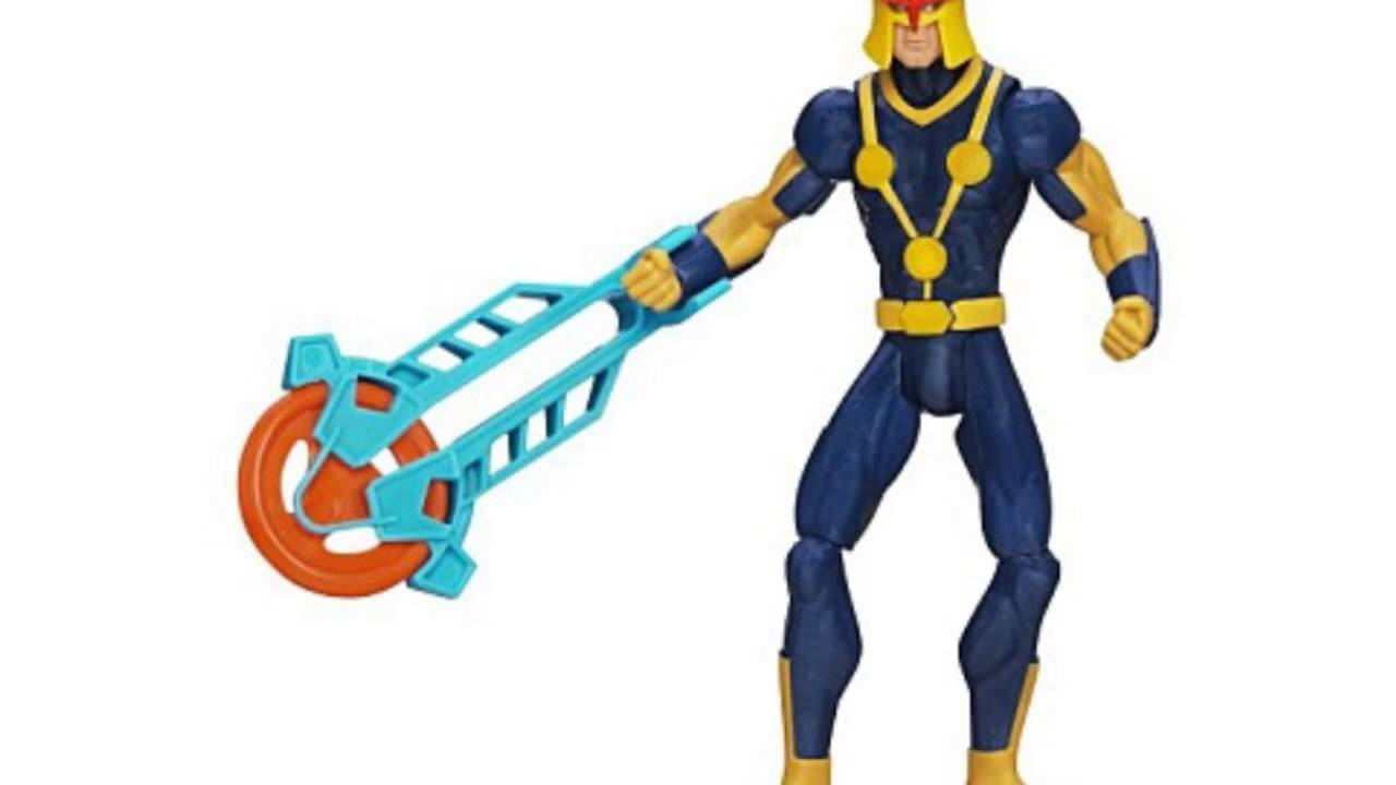 Marvel ultimate spider man human rocket nova figure 6 - Nova ultimate spider man ...