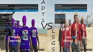 GTA V Online - Guerra De Comandos - ADT1 CONTRA LSGS pt-br