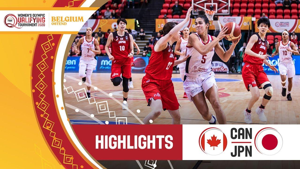 Canada v Japan - Highlights