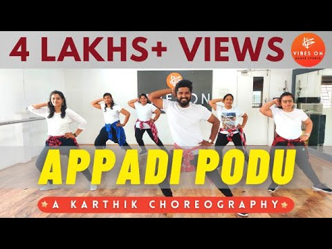 Appadi Podu | Gilli | Dance Fitness | Karthik - Choreography | VIBES ON DANCE STUDIO