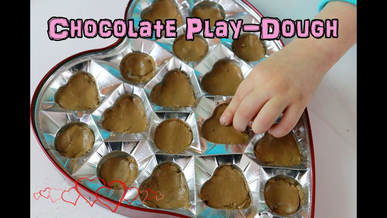 Pinsday How To Chocolate Play Dough Valentines Creative Play