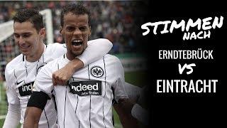 Erndtebrück vs. Eintracht | Stimmen nach dem Spiel
