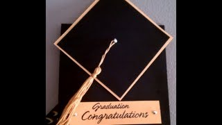 How To Make A Tassel & Graduation Cap Card
