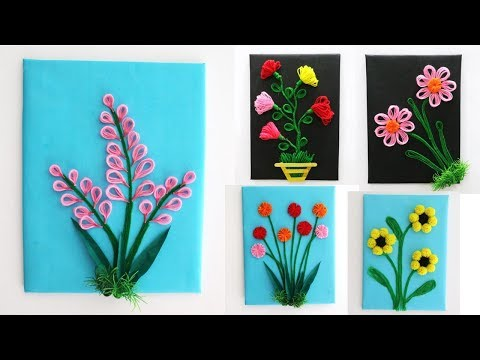 5 Best DIY Room Decorating Ideas || wool wall handing idea || art and craft