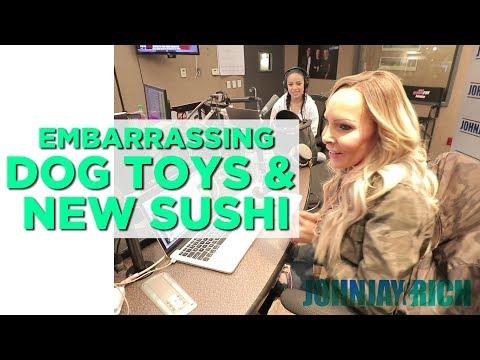 In-Studio Videos - When Dog Toys Attack & New Sushi!