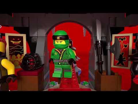City Police and Ninjago Temple - LEGO City and LEGO Ninjago - Product Animation