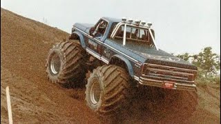 Big Foot Monster Truck Hill Climb Attempt