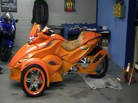 Custom Can Am Spyder Build Prime Time Part 4 Youtube