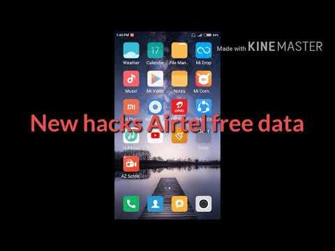 Free Free ????????Airtel Free Data Hacks ..