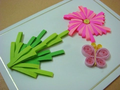How To Make Quilling Comb Flowers