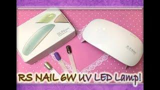 Обзор / Мини Лампа / RS NAIL 6W UV LED Lamp / SUN mini