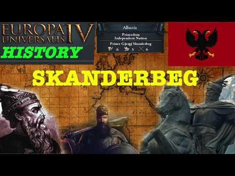 EU4 History - Skanderbeg