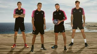 Neymar Jr and team having fun in Doha, Qatar