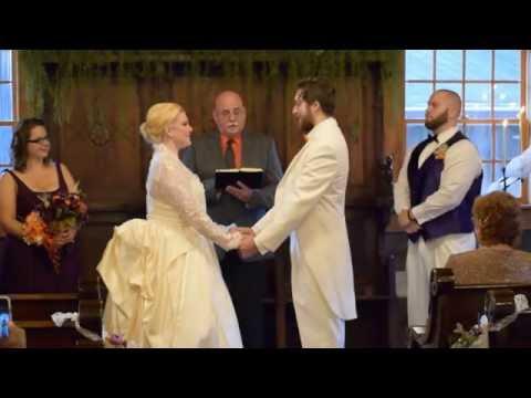 Valerie & Aaron Campbell's Wedding Heritage Farm & Village Huntington WV