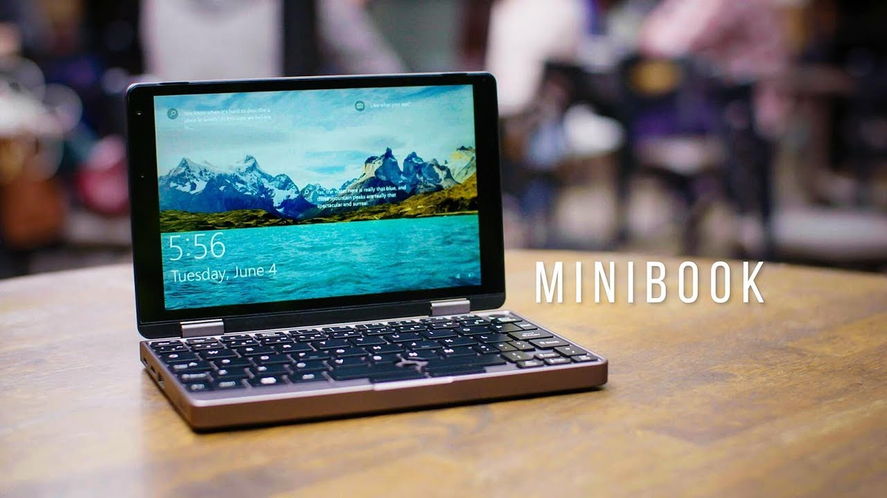 Mobile Workstation for Your Pocket - CHUWI Minibook Now LIVE on Indiegogo!