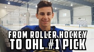 From Inline In Israel To AAA And #1 OHL Pick - David Levin