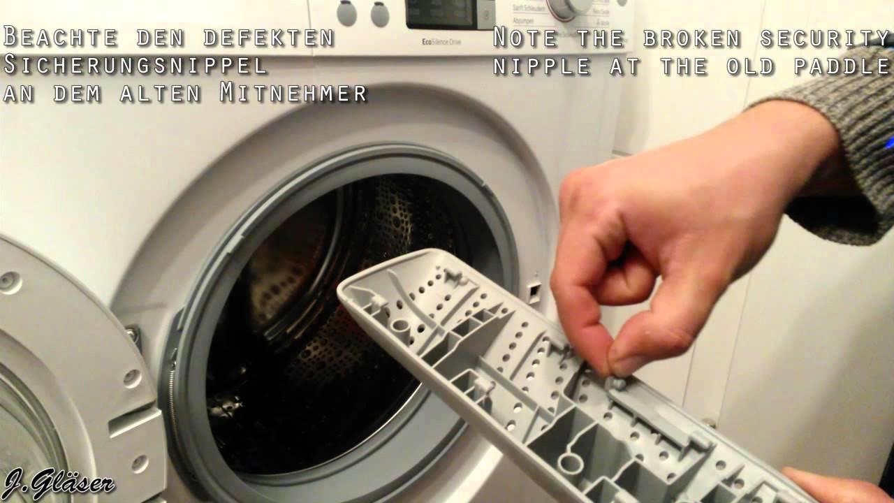 How To Change Drum Paddle Lifter Anleitung Zum Waschemitnehmer