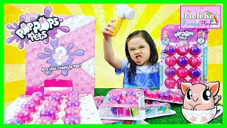 Pop Pops Pets Slime Toys  Bubble Popping Slime Surprise With Fluffy Squishy Toys @DaeleneFP