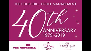 Crowne Plaza Limassol Cyprus 40th Anniversary Video