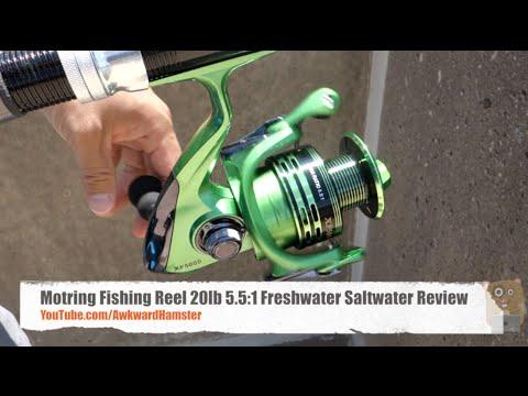 Motring Fishing Reel 20lb 5.5:1 Freshwater Saltwater Review